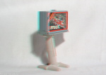 Kenner M.A.S.K. Billboard Blast 3d color anaglyph loose
