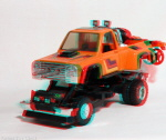 Kenner M.A.S.K. Firecracker 3d color anaglyph loose