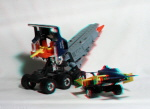 Kenner M.A.S.K. Goliath 3d color anaglyph loose