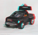 Kenner M.A.S.K. Jackhammer 3d color anaglyph loose