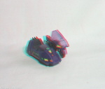 Kenner M.A.S.K. Piranha 3d color anaglyph loose