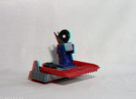 Kenner M.A.S.K. Pit Stop Catapult 3d color anaglyph loose