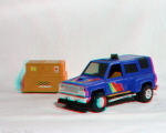 Kenner M.A.S.K. Ratfang and Hornet 3d color anaglyph loose