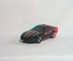 Kenner M.A.S.K. Raven 3d color anaglyph loose