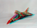 Kenner M.A.S.K. Skybolt 3d color anaglyph loose