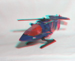 Kenner M.A.S.K. Switchblade 3d color anaglyph loose