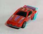 Kenner M.A.S.K. Thunderhawk 3d color anaglyph loose