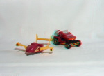 Kenner M.A.S.K. Vandal 3d color anaglyph loose