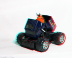 Kenner M.A.S.K. Volcano 3d color anaglyph loose