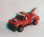 Kenner M.A.S.K. Wildcat 3d color anaglyph loose