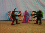 Power Rangers 3d color anaglyph loose