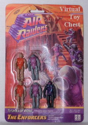 Hasbro Air Raiders Tyrants of Wind The Enforcers MOC