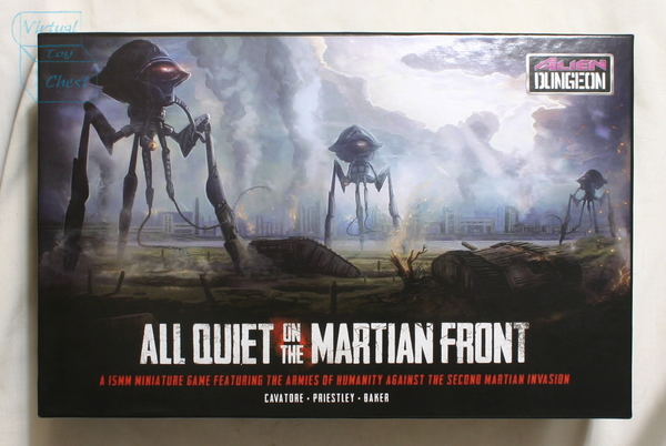 All Quiet on the Martian Front starter set front of box