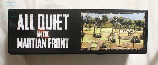 All Quiet on the Martian Front starter set bottom of box