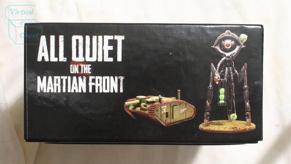 All Quiet on the Martian Front starter set side of box