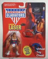 American Gladiators mattel Laser moc