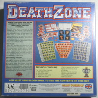 bloodbowl DeathZone back of box
