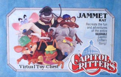 capitol critters Jammet Rat kenner