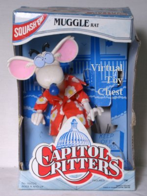 capitol critters Muggle Rat kenner