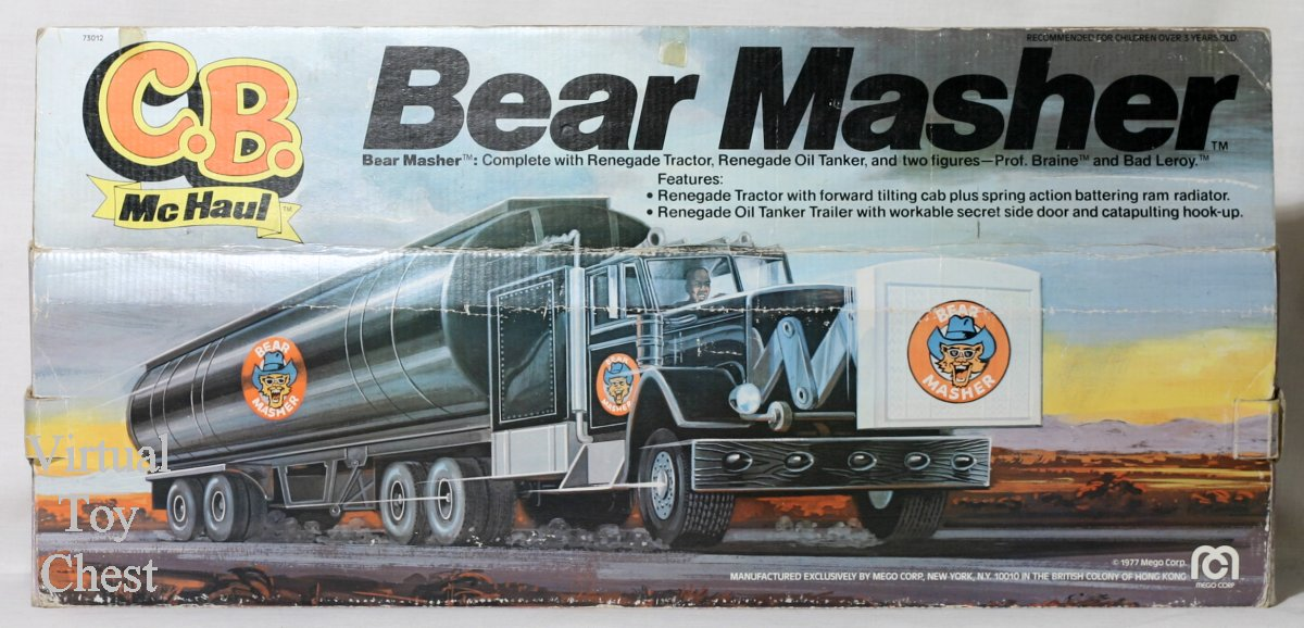 C.B. McHaul Bear Masher Rig back of box