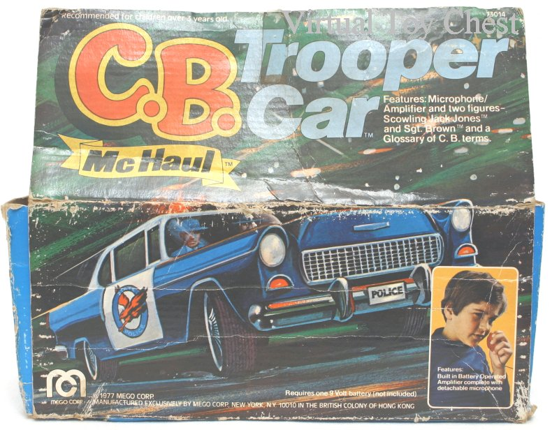 C.B. McHaul Police Car back of box