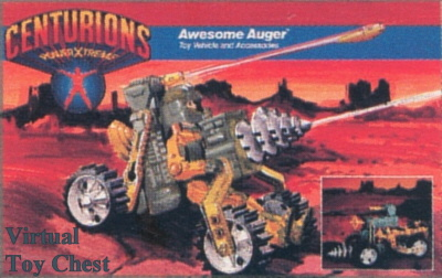Kenner Centurions Awesome Auger Unproduced Prototype