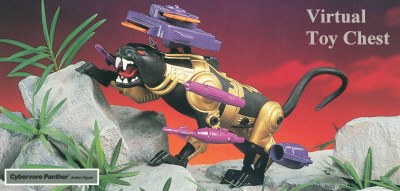 Kenner Centurions Cybervore Panther Unproduced Prototype