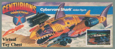 Kenner Centurions Cybervore Shark Unproduced Prototype