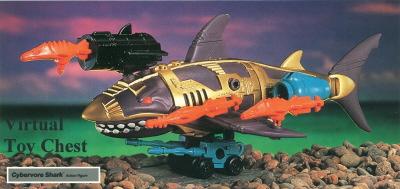 Kenner Centurions Cybervore Shark Unproduced Prototype