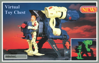 Kenner Centurions Rex Charger's Gatling Guard Unproduced Prototype