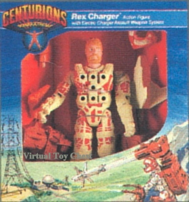 Kenner Centurions Rex Charger Unproduced Prototype