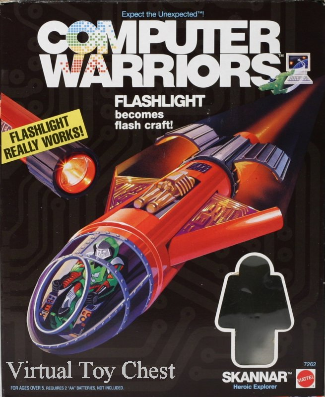 Computer Warriors Skannar front of box