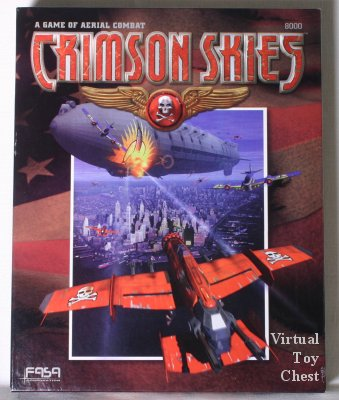 Crimson Skies boxed set by FASA