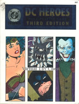 D.C. Heroes RPG book 3rd edition