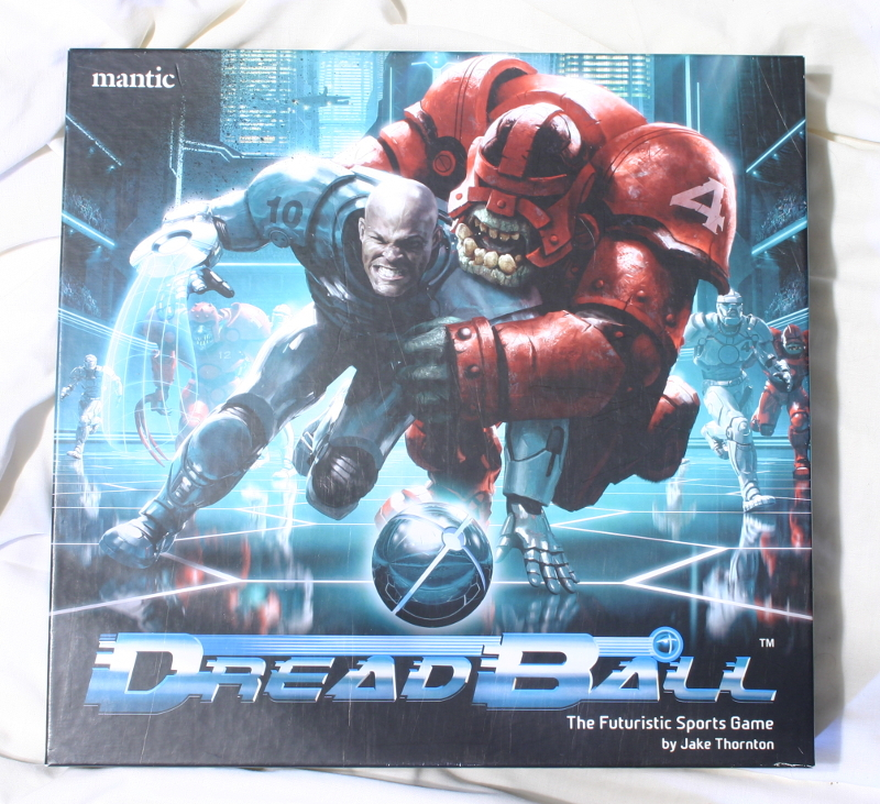 Dreadball Deluxe front of box