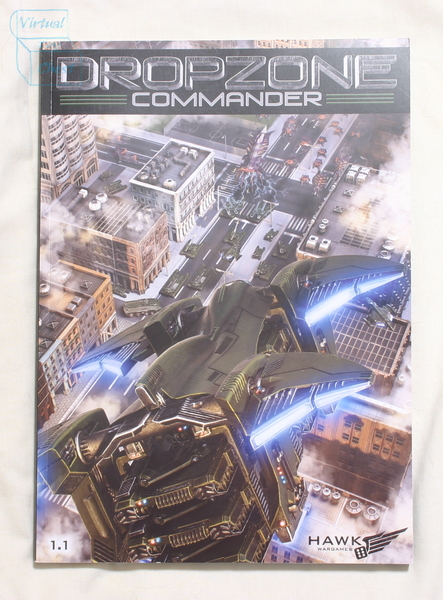 Dropzone Commander front of rulebook