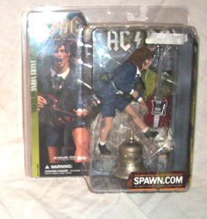 AC/DC action figure McFarlane Toys 2001