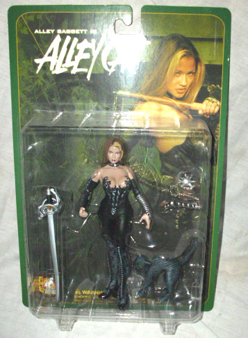 Alley Baggett Alley Cat in Black Suit Figure by Action toys.