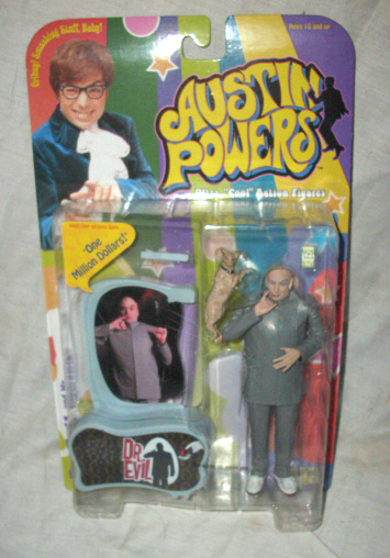 Austin Powers Dr. Evil action figure by McFarlane Toys