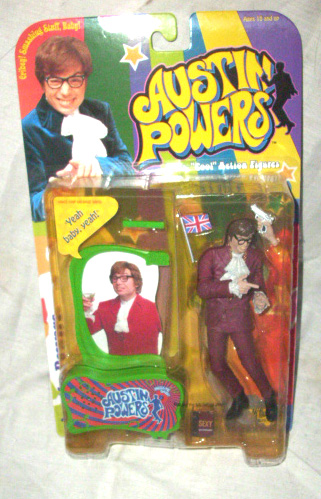 Austin Powers action figure by McFarlane Toys