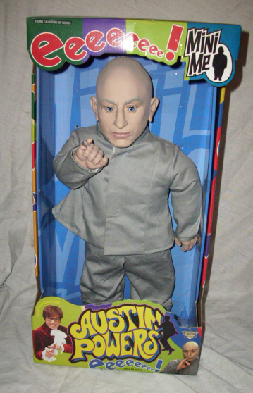 Mini Me Austin Powers action figure by McFarlane Toys