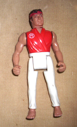 remco secret of the ninja thai kick boxer action figure