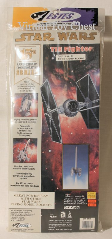 Estes Model Rockets Tie Fighter