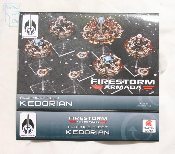 firestorm armada Kedorian box front