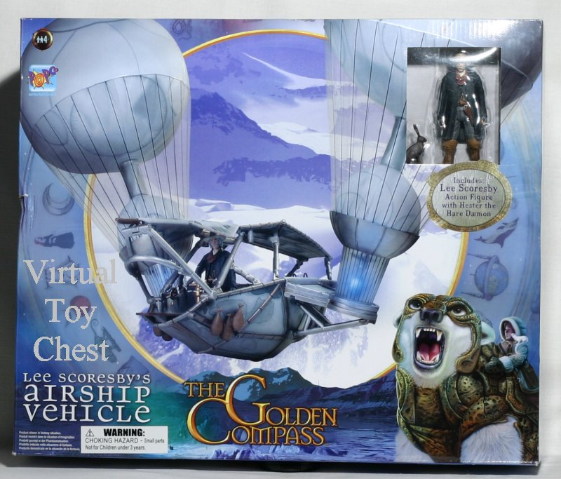 The Golden Compass Lee Scoresby's Airship Vehicle MIB