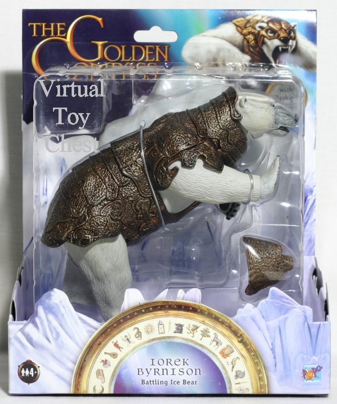 The Golden Compass iorek byrnison battling ice bear moc