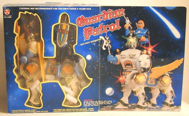SECTAURS (Coleco) 1984 Guardianpatrolboxfcrop
