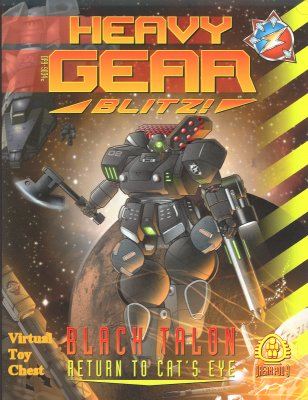 HeavyGear Blitz Black Talon Return to Cat's Eye