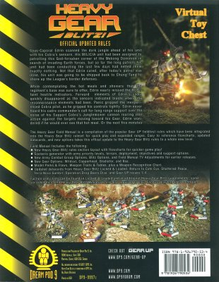 HeavyGear Blitz Field Manual