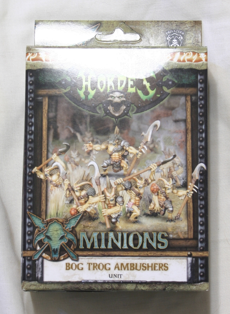 Hordes Minions Bogtrogs front of box